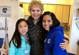 Fifth Grade Visit With Fireside Senior Residents