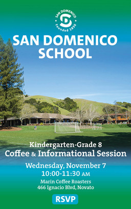K-8 Coffee & Informational Session