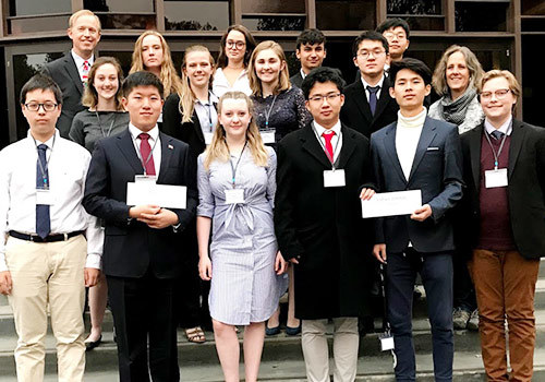 San Domenico Model UN at Stanford University and Presentation to Rotary Club