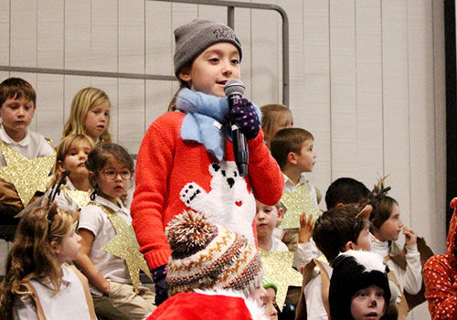 K-2 Holiday Show Spreads Good Cheer!