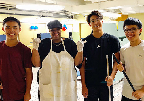 ROSE Project: Three Students of Service in San Francisco