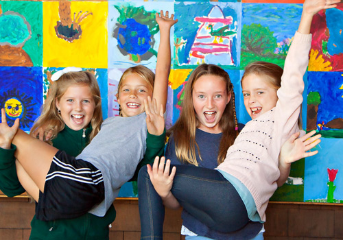 Lower School Students Having Fun