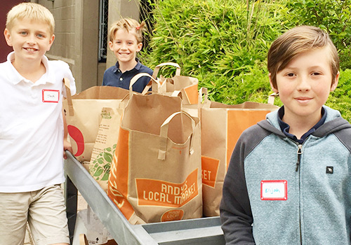 Lower School Service Learning