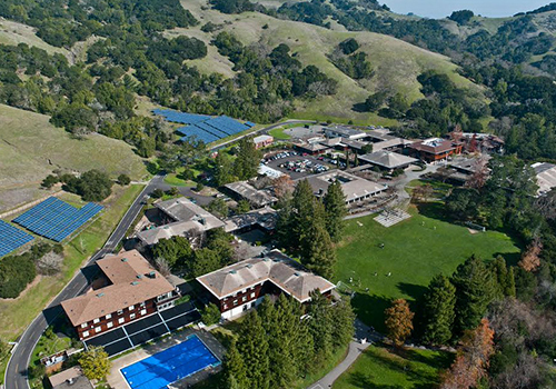 At San Domenico, residential life means calling 515 beautiful acres home.