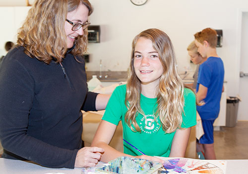 Independent Day School in California, San Domenico provides visual arts programs for students in Marin County, CA.