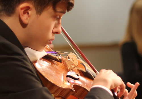 Virtuoso Program Student Performing