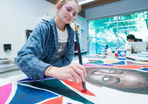 San Domenico offers art classes in Marin County, CA and also specializes in Boarding School programs for grades 9-12.
