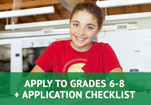Apply to Grades 6-8 + Application Checklist