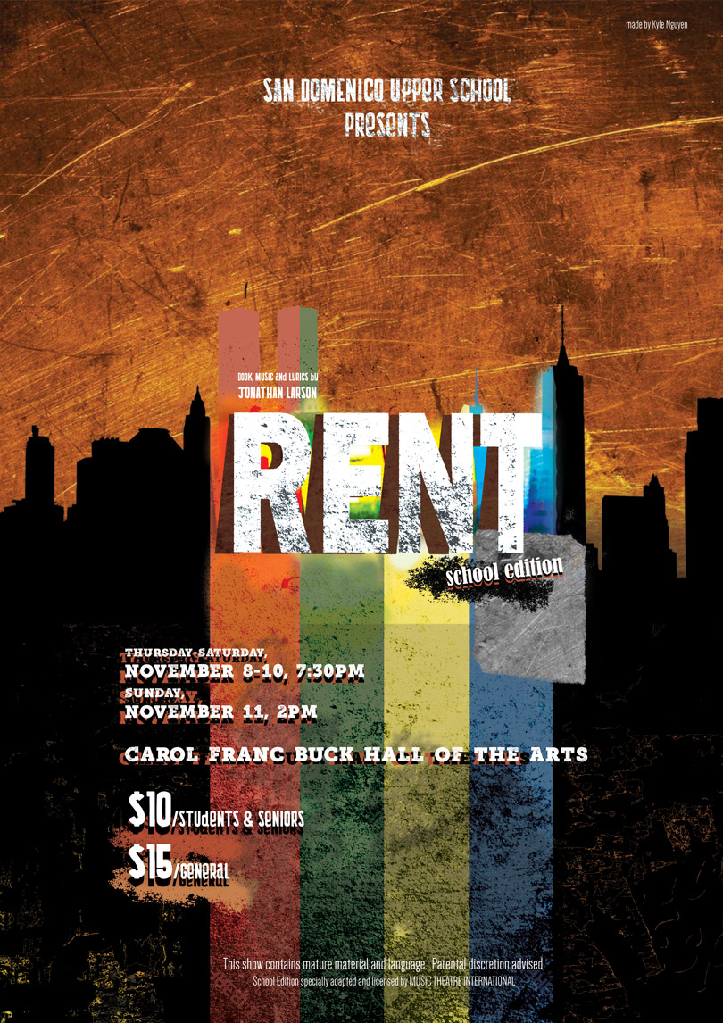 SD Upper School Presents: RENT