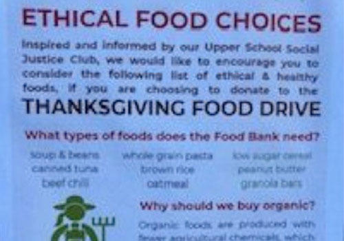 Ethical Food Choices