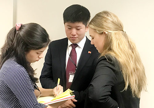Model UN at Stanford
