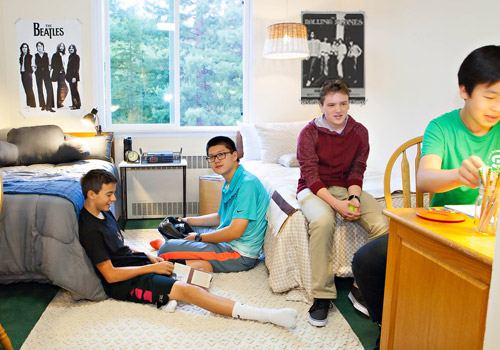 Attending boarding school is an unparalleled opportunity to build community in a home away from home.