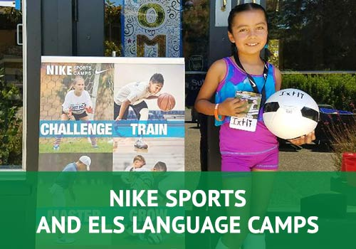 Nike Sports and ELS Language Camps