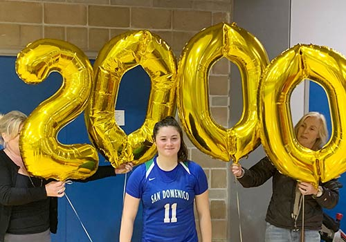"Basketball Phenom Kayden ""KK"" Korst Surpasses 2,000 points in Winning Game"