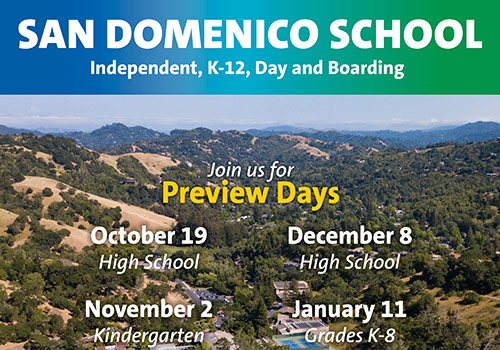 Visit San Domenico for a Preview Day!
