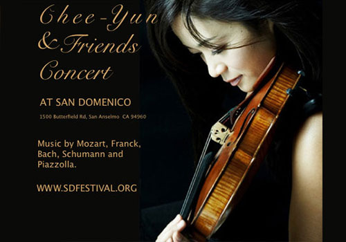 World Renowned Violinist and SD Student Concerts Coming Up
