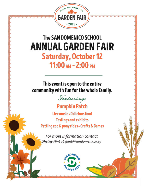 The San Domenico School Annual Garden Fair