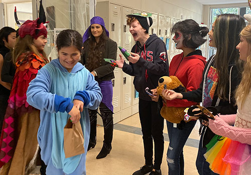 Halloween Costume Parade Celebration for K-12 Students A Monster of A Good Time!