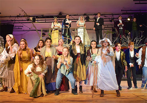 "SD Students Shine in Performance of Sondheim's Classic ""Into The Woods"""