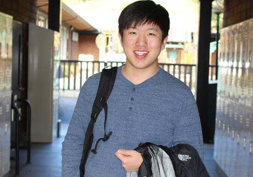 Jack Yuanwei Cheng, one of only eight student winners of the MTC's Young Playwrights Festival.