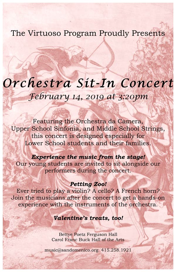 Orchestra Sit-In Concert