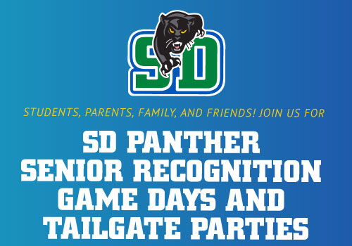 SD Panther Senior Recognition Game Days and Tailgate Parties