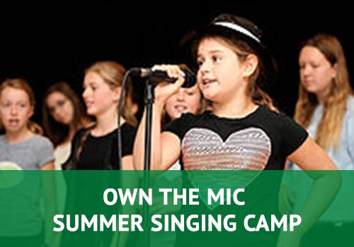 Own The Mic Summer Singing Camp