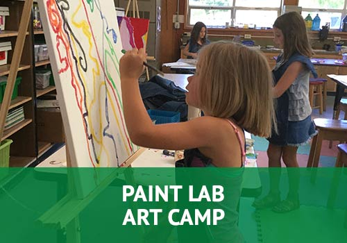 Paint Lab Art Camp