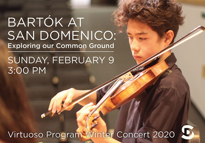 Bartók at San Domenico: Exploring Our Common Ground