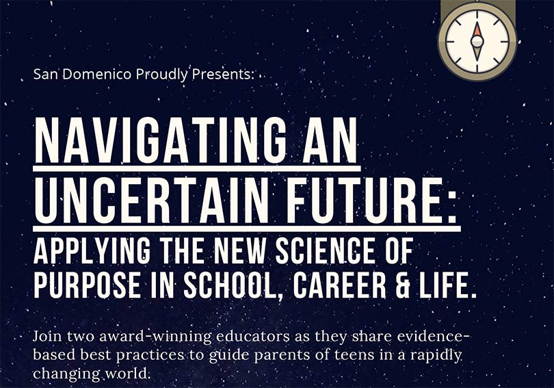 Parent Ed. Opportunity: Navigating an Uncertain Future