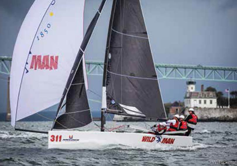 In October, Liam also competed in the Perkins Cup Corporate Challenge on San Francisco Bay