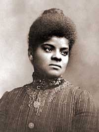 Sepia-toned photo of a young Ida B. Wells
