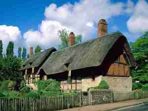 Photograph of Anne Hathaway cottage