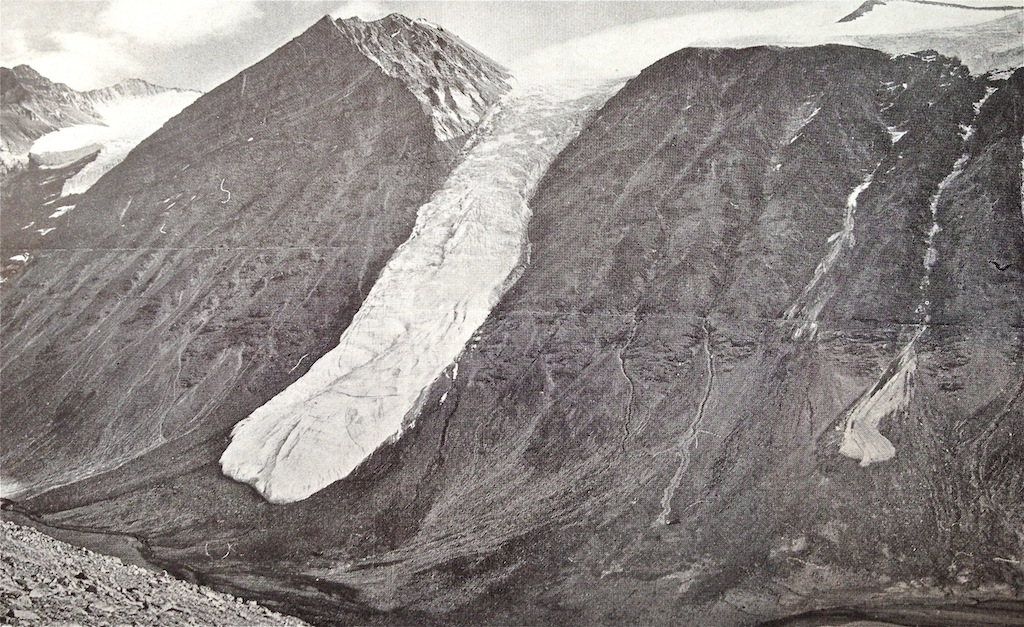 Greenland Glacier photographed by Louise Boyd, 1933