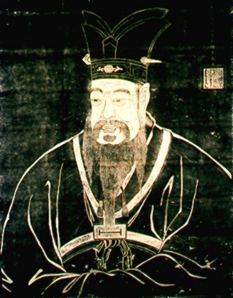 Painting of Confucious