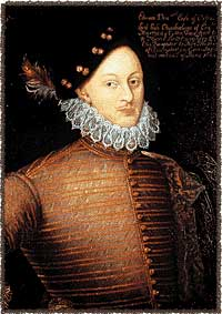Painting of Edward de Vere, 17th Earl of Oxford