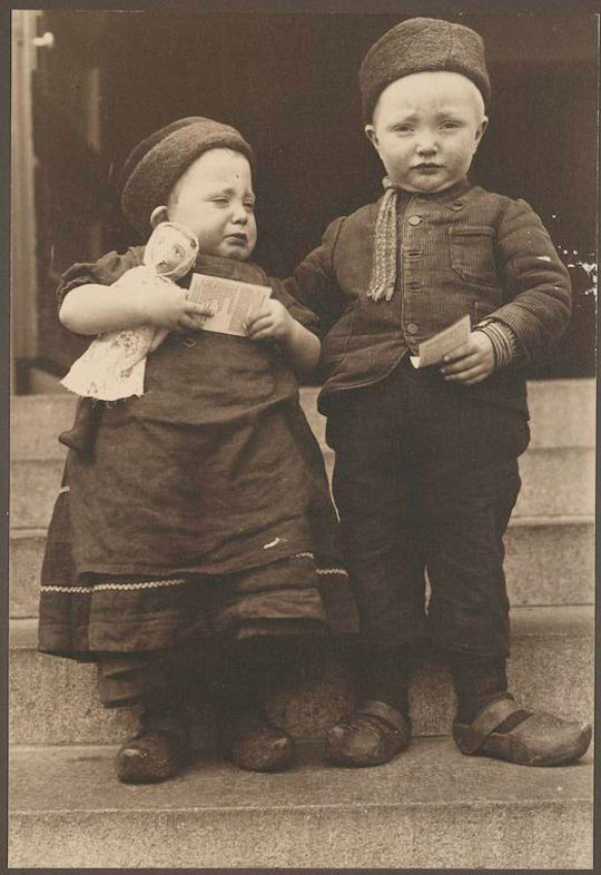 Ellis Island - Dutch Children