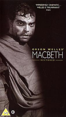 Poster of Orson Welle's McBeth