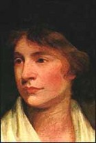 Painting of Mary Wollstencroft