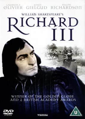 Image of Lawrence Olivier's Richard III