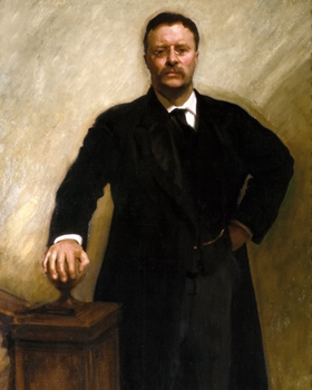 Portrait of Teddy Roosevelt
