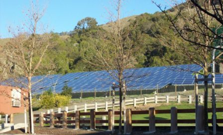 San Domencio School Solar Panels